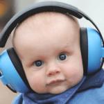 Cascos ruido bebe