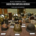 Cascos utilizados en la guerra civil espaola